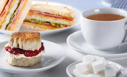 Afternoon Tea for Two or Four at Sefton Meadows Garden Centre (45% Off)