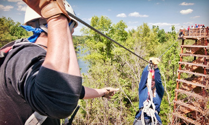Canaan Zipline Canopy Tour - Rock Hill, SC: $37 for a 3.5-Hour Zipline Tour ($75 Value)