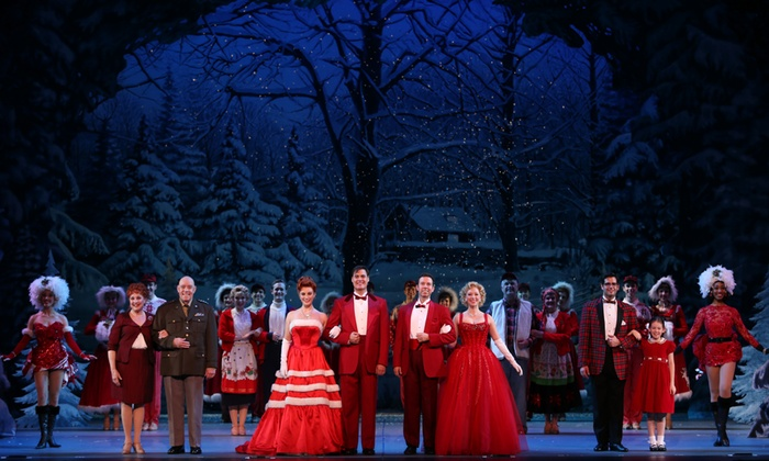 """""""White Christmas"""" - Wang Theatre: """"Irving Berlin's White Christmas"""" at Citi Performing Arts Center Wang Theatre on December 26, 27, or 28 (Up to 40% Off)"""