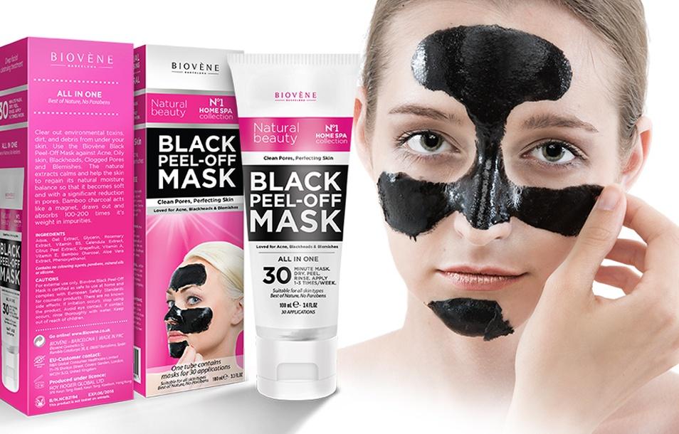 Biovéne Black Peel-Off Mask (3.3oz.)