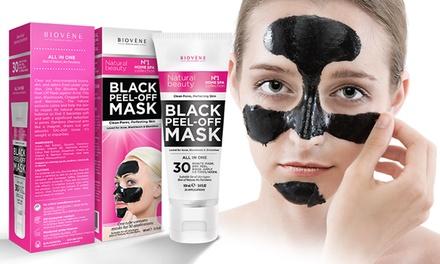 biov ne black peel off mask groupon goods. Black Bedroom Furniture Sets. Home Design Ideas