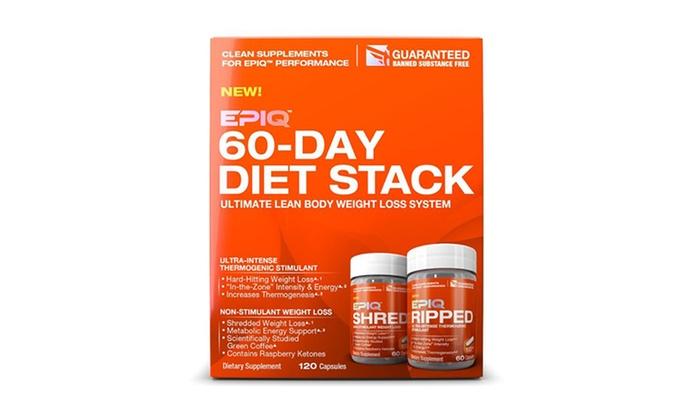 Epiq 60-Day Diet Stack | Groupon Goods