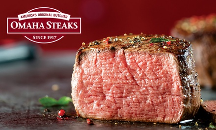 groupon.com - Holiday Grilling Packages from Omaha Steaks (Up to 71% Off). Three Options Available.