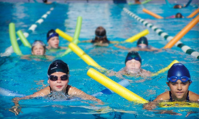 Duke City Aquatics - Los Volcanes: One Month of Splashball or Intro, Intermediate, or Advanced Swim Lessons at Duke City Aquatics (Up to 53% Off)