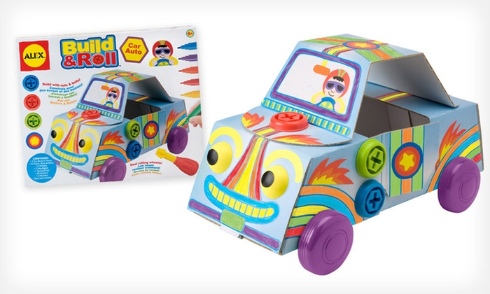 Alex Build-a-Toy-Car Bundle: $12.99 for an Alex Build & Roll Car and Silly Rollers Bundle ($31.90 List Price)