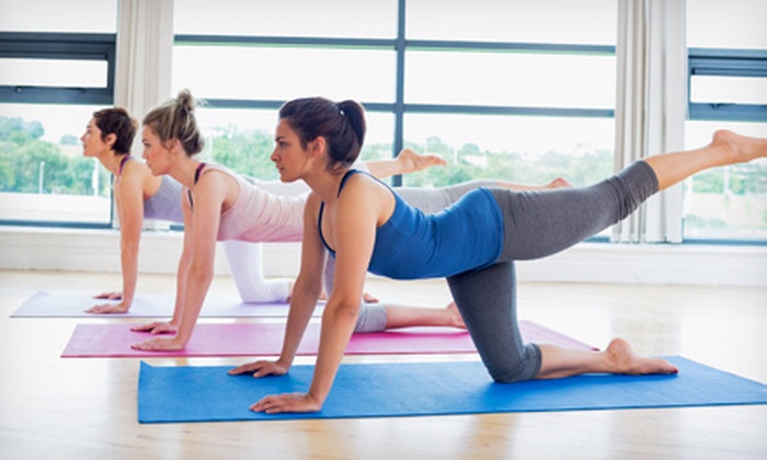 One or Two Months of Yoga Bamboo Garden Yoga Groupon