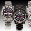 Chronotech Men's Stainless Steel Chronograph Watch