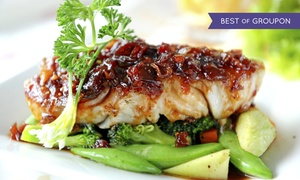Europa Black Rock Bar and Grill: Mediterranean Cuisine for Two or Four at Europa Black Rock Bar and Grill (Up to 46% Off)