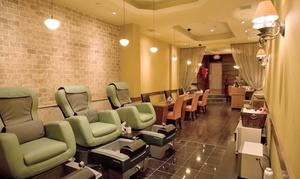 Fantagio Spa: Massage, Reflexology, or Mani-Pedi Services at Fantagio Spa (Up to 48% Off)