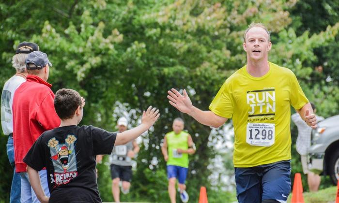 Jamestown Half Marathon - Jamestown: $38 for One Jamestown Half Marathon Entry on Saturday, September 19 ($75 Value)