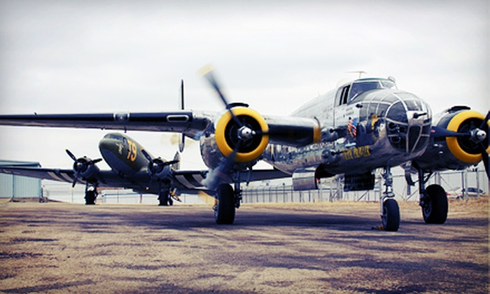 Greatest Generation Aircraft - Multiple Locations: Flight over Dallas for One or Two, or B-25 Bomber Ground School from Greatest Generation Aircraft (Up to 60% Off)