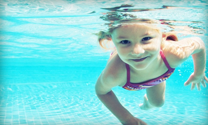 Swim Jim - Multiple Locations: Four or Eight Child or Adult Swim Lessons at Swim Jim (Up to 69% Off)