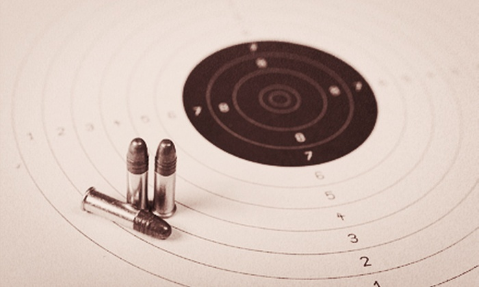 Plant City Gun Range - Plant City: Firearm-Safety Training with Gun Rental, Ammo, and Targets for Two or Four at Plant City Gun Range (Up to 64% Off)
