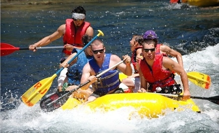 Raft Trip for Up to Six with a Catered Barbecue Lunch on Saturday, June 23 - River Journey in Oakdale