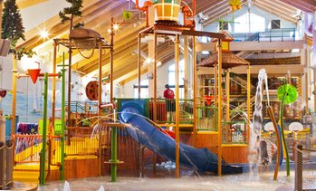Great Wolf Lodge Water Park Outside Boston