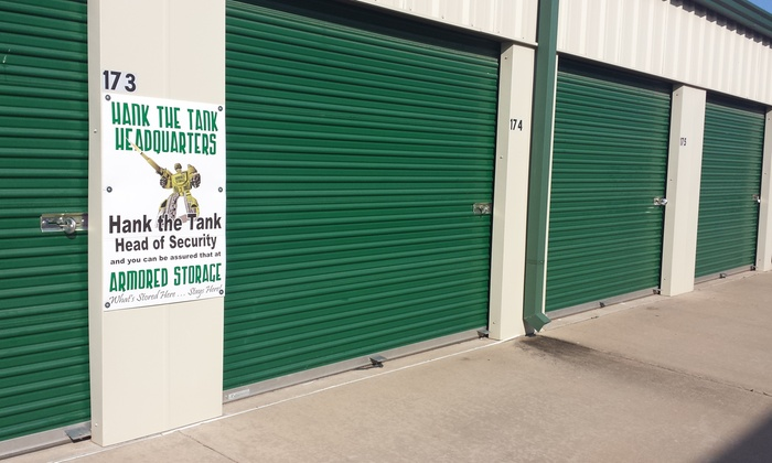 Armored Storage - Lawton: $40 for $90 Worth of Storage-Space Rental — Armored Storage