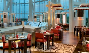 Hilton Capital Grand Abu Dhabi: Four-Course Valentine's Day Romantic Dinner for Two at Rouge, Hilton Capital Grand Abu Dhabi (57% Off)