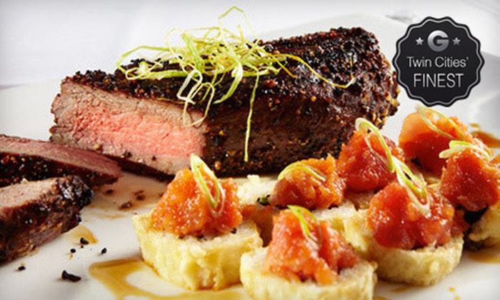 Rare Steak & Sushi - Minneapolis: Steak-House and Japanese Food at Rare Steak & Sushi (Half Off). Two Options Available.