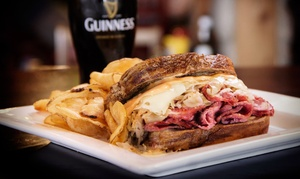 O'Donold's Irish Pub & Grille: Irish Pub Grub for Dinner for Two at O'Donold's Irish Pub and Grille (Up to 50% Off). Two Options Available.