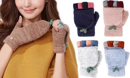 Cashmere Blend Fingerless Gloves