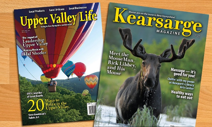 """Kearsarge"" or ""Upper Valley Life"" Magazine: 12-Month Subscription to ""Kearsarge Magazine,"" ""Upper Valley Life"" Magazine, or Both (Up to 54% Off)"