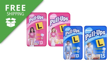 Free Shipping: $29 for 78 or 90 Huggies Pull Ups Training Pants for Boys or Girls (Dont Pay $77.94)