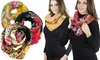 Women's Printed Infinity Scarves (6-Pack)