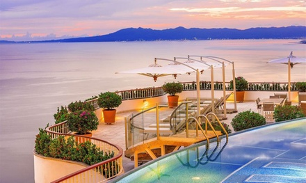 Stay with Resort Credit in Grand Miramar All Luxury Suites & Residences in Puerto Vallarta, Mexico. Dates into December.