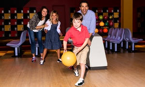 AMF Bowling Co.: Two Hours of Bowling and Shoe Rental for Two, Four, or Six at AMF Bowling Co. (Up to 55% Off)