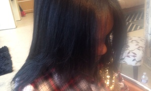 Tammi Griffin @ Pizzaz: Trim, Blow-Dry, Color, or Partial Highlights from Tammi@Pizzaz  (55% Off)