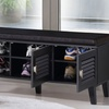 Sheffield Modern Dark Espresso Shoe Storage Benches