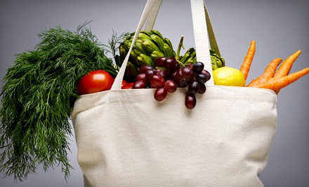 $12 for $20 Worth of Groceries and Supplements at Village Organic Market (40% Off)