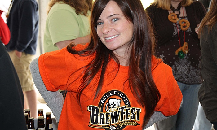 Belle City Brewfest - Festival Hall Racine Civic Centre : Belle City Brewfest at Racine Civic Centre on Saturday, May 9, at 1 p.m. (Up to 29% Off)