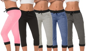 Women's Fashion Contrast-Color Joggers (5-Pack) at Women's Fashion Contrast-Color Joggers (5-Pack), plus 9.0% Cash Back from Ebates.