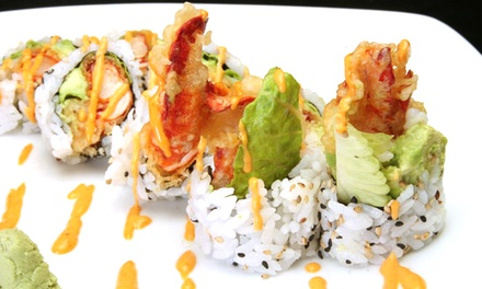$25 for $40 Worth of Sushi, Japanese Cuisine, and Drinks at Yotsuba