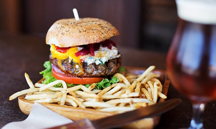Bare Back Grill - Pacific Beach: $20 for $35 Worth of Organic, Grass-Fed Burgers and New Zealand Food at Bare Back Grill