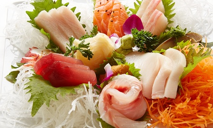 Sushi and Japanese Cuisine for Two or Four or More at Hokkaido Asian Bistro (Up to 40% Off)
