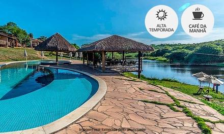 São José de Mipibu/RN: 1 ou 2 noites para 2 pessoas + café da manhã no Rio Das Garças Eco Resort