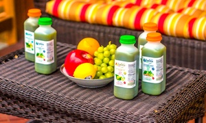 Raw Detox Cleanse: One-, Three-, Five-, or Seven-Day Juice Cleanse from Raw Detox Cleanse (Up to 58% Off)