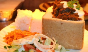 Braai Shack Restuarant: South African Bunny Chow Meal With a Beer or Wine For Six at Braai Shack Restuarant (Up to 48% Off)