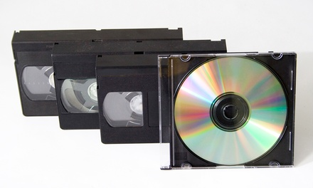 $7.99 for VHS- or Camcorder-to-DVD Conversion at Flicko's Video Workshop ($16.33 Value)
