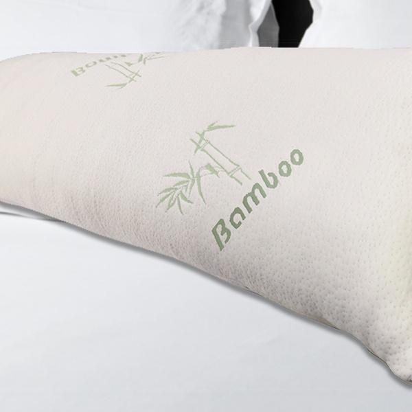 Bamboo Memory Foam Body Pillow Groupon