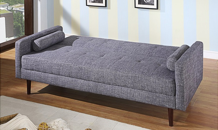 Coolgear nora sofa bed groupon for Sofa bed groupon