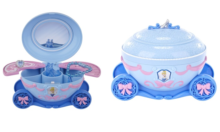 Disney Princess Cinderella Deluxe Jewelry Box Groupon