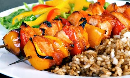Mediterranean and Persian Lunch or Dinner for Two or Four at Kababi Zaytoon Mediterranean Restaurant (Up to 48% Off)