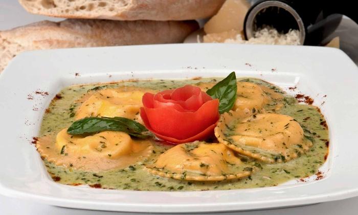 La Risata Ristorante - North York Industiral: Four-Course Italian Dinner for Two or Four at La Risata Ristorante (Up to 55% Off)