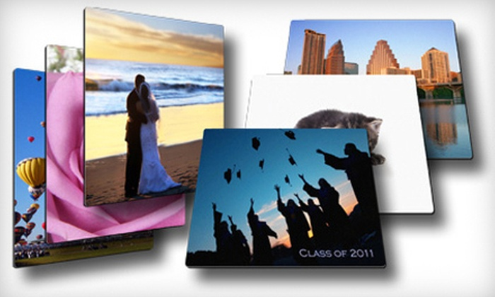 "Picture It On Canvas: 11""x14"" or 16""x20"" Metal Print from Picture It On Canvas (Up to 68% Off)"