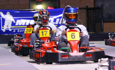 Four Go-Kart Races or Two-Month VIP Membership at Mid Atlantic Grand Prix (Half Off)