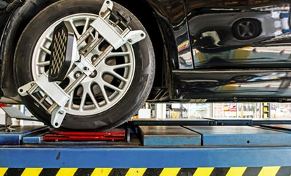 Up to 42% Off Wheel Alignment at Big O Tires