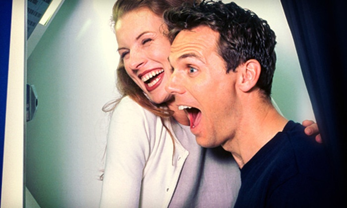 The Classic Photo Booth - Atlanta: Two-, Three-, or Four-Hour Digital-Photo-Booth Rental from The Classic Photo Booth (Up to 52% Off)